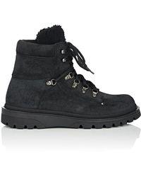 Moncler - Egide Suede Hiking Boots - Lyst