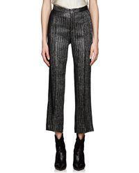 Isabel Marant - Denlo Metallic Striped Trousers - Lyst