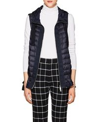 Moncler - Ruffled-hem Down-quilted Vest - Lyst
