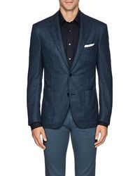 Luciano Barbera - Wool-cashmere Two-button Sportcoat - Lyst