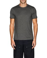 Theory - Claey Plaito Silk-cotton T - Lyst