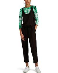 ATM - Cotton Jersey Jumpsuit - Lyst