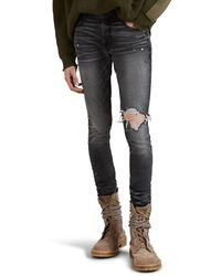 Amiri - Broken Skinny Jeans - Lyst