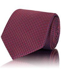 Brioni - Geometric Silk Jacquard Necktie - Lyst