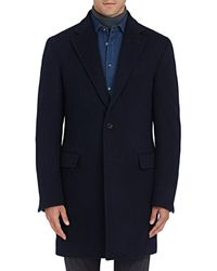 Sanyo - Chester Down Wool Topcoat - Lyst