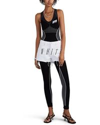 Off-White c/o Virgil Abloh - Logo-jacquard Jumpsuit - Lyst