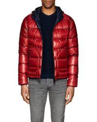 b56174015554 Herno Dark Blue Polar-tech Down Jacket in Blue for Men - Lyst