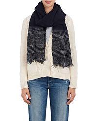 Destin - Plaid Wool-blend Bouclé Scarf - Lyst