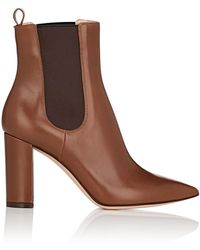 Gianvito Rossi - Myers Leather Chelsea Boots - Lyst