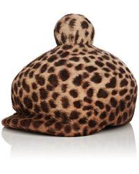 Lola Hats - Toy Soldier Leopard-pattern Fur-felt Hat - Lyst