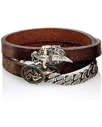 Sevan Biçakci - Peace & Love Wrap Bracelet - Lyst