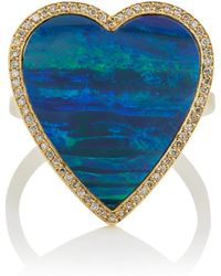 Jennifer Meyer - Large Heart Ring - Lyst