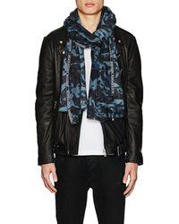 Alexander McQueen | Skull-camouflage Cashmere | Lyst