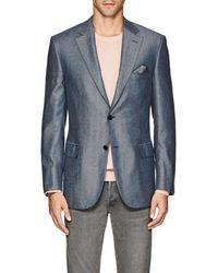 Brioni - Ravello Herringbone Silk-cashmere Two-button Sportcoat - Lyst