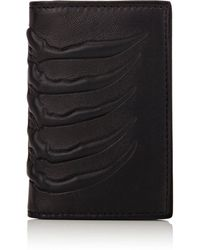 Alexander McQueen - Rib-cage-embossed Card Case - Lyst