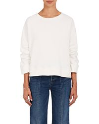 Warm - Minimal Cotton Terry Sweatshirt - Lyst