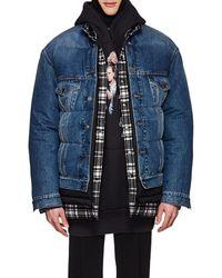 Balenciaga - Layered Oversized Puffer Jacket - Lyst