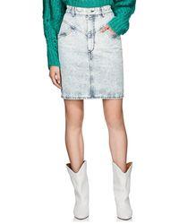 Isabel Marant - Lorina Denim Miniskirt - Lyst