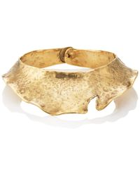 Goossens Paris - Pounded Collar Necklace - Lyst