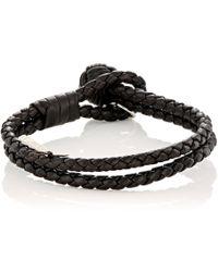 Bottega Veneta - Intrecciato Double Bracelet - Lyst
