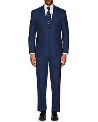 Piattelli - Napoli Wool-silk Two-button Suit - Lyst