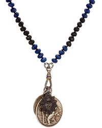 Miracle Icons - Vintage-icon Beaded Necklace - Lyst