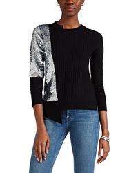OSMAN Adams Sequined Wool-cashmere Sweater