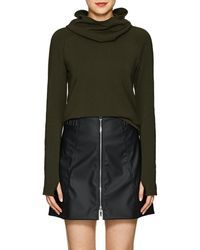 Paco Rabanne - Logo Stretch-jersey Hooded Top - Lyst