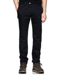 Moncler Gamme Bleu - Cotton Twill Slim Trousers - Lyst