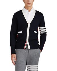 Thom Browne - Colorblocked Compact-wool V - Lyst