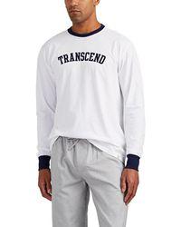 Sleepy Jones - transcend Cotton T-shirt - Lyst
