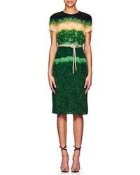 Altuzarra Tie Dyed Silk Midi Dress Lyst