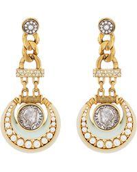Maison Mayle - Luna Drop Earrings - Lyst