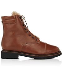 Robert Clergerie | Josephf Leather Ankle Boots | Lyst