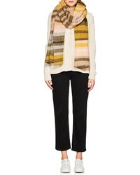 The Elder Statesman - Striped Cashmere Oversized Scarf - Lyst
