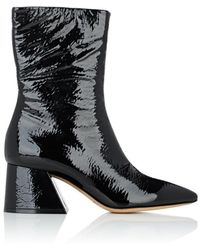 Maison Margiela - Patent Leather Ankle Boots - Lyst