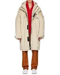 Martine Rose - Sherpa-lined Cotton Oversized Parka - Lyst