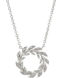 Cathy Waterman - Wreath Pendant Necklace - Lyst