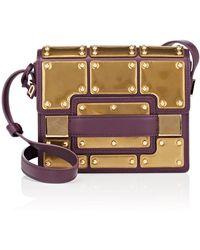 Delvaux - Madame Mini Leather Shoulder Bag - Lyst