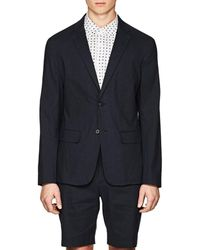 Theory - Clinton Linen-blend Two - Lyst