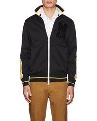 Moncler - Striped Jersey Track Jacket - Lyst