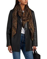 Nili Lotan - Rose Leather Trench Coat - Lyst