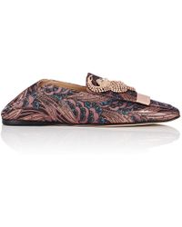 Sergio Rossi - Sr1 Brocade Loafers Size 11 - Lyst
