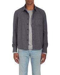 Simon Miller - Radnor Wool Twill Shirt - Lyst