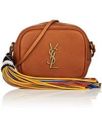 Saint Laurent - Monogram Blogger Leather Crossbody Bag - Lyst