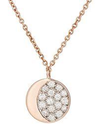 Pamela Love - Reversible Moon Phase Pendant Necklace - Lyst