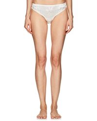 Gilda & Pearl - Lovers Of Montparnasse Silk & Lace Briefs - Lyst