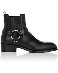 Alexander McQueen - Chunky Heel Boots - Lyst