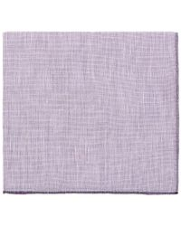 Simonnot Godard - Men's Slub-weave Pocket Square - Lyst