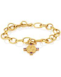 Cathy Waterman - Goddess Charm Bracelet - Lyst